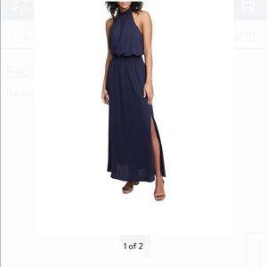 Rachel Roy Blouson A-Line Maxi Dress - Size Small